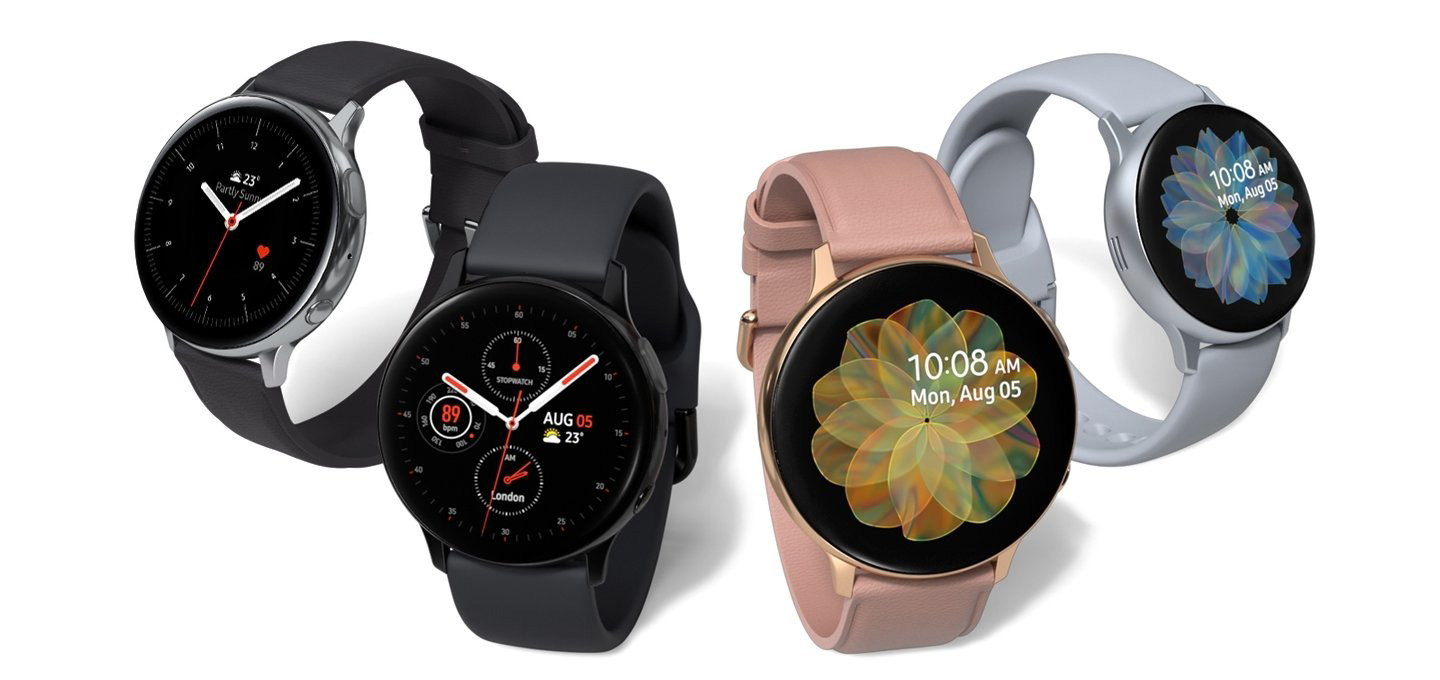 линейка Galaxy Watch Active2