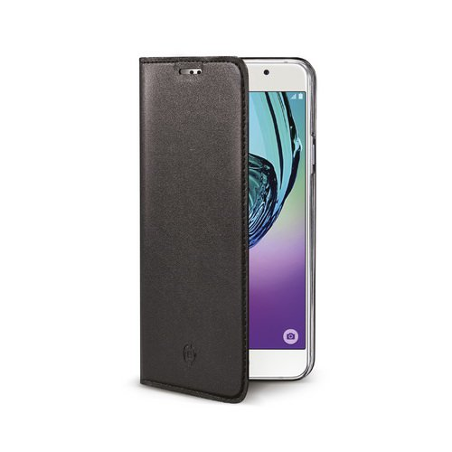 Чехол-книжка Celly Air Case черный, для Galaxy A5 (2017)