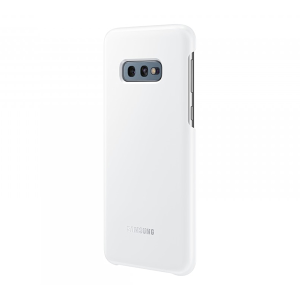 Чехол Samsung LED Cover для Galaxy S10e белый, пластик фото
