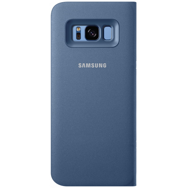 Чехол-книжка Samsung LED View Cover голубой, для Galaxy S8 Plus