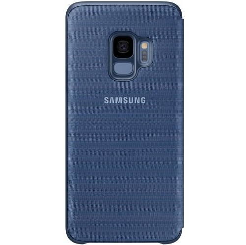 Чехол-книжка Samsung LED View Cover синий, для Galaxy S9