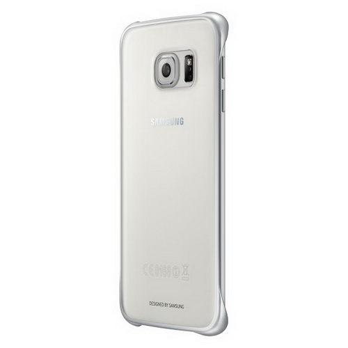 Чехол Samsung Clear Cover для Galaxy S6 Edge Plus серый