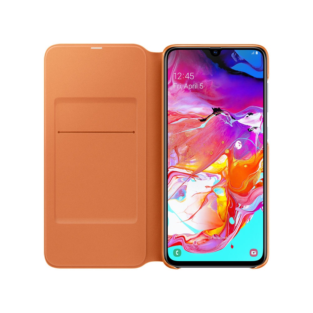 Чехол-книжка Samsung A70 Wallet Cover белый