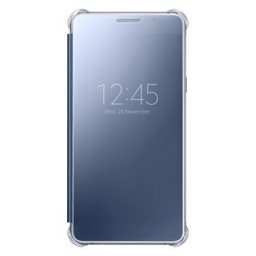 Чехол Samsung Clear View Cover черный, для Galaxy A5 (2016)