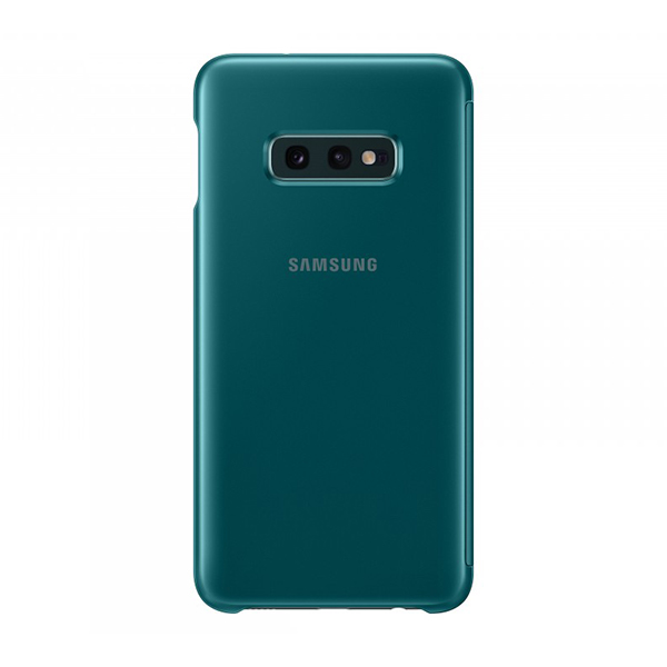 Чехол Samsung Clear View Cover зеленый, для Galaxy S10e
