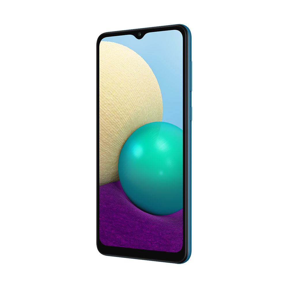 Смартфон Samsung Galaxy A02 32Gb Синий
