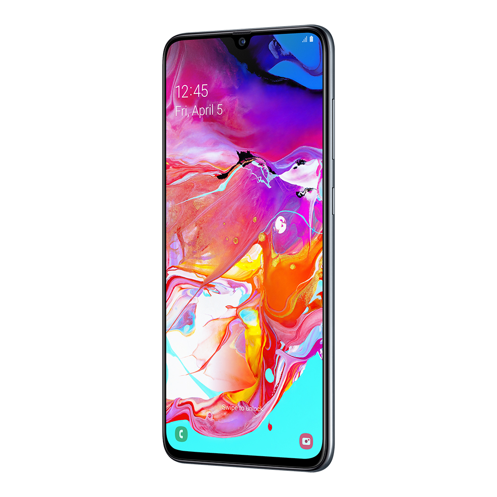 Смартфон Samsung Galaxy A70 128Gb Чёрный
