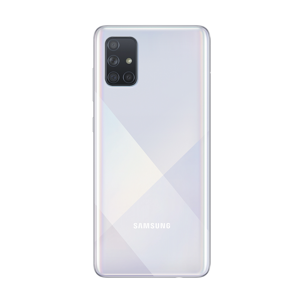 Смартфон Samsung Galaxy A71 128Gb Серебристый фото