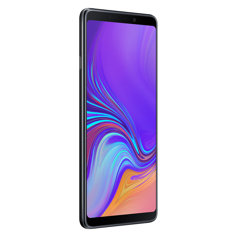 Смартфон Samsung Galaxy A9 (2018) 128GB черный SM-A920F/DS