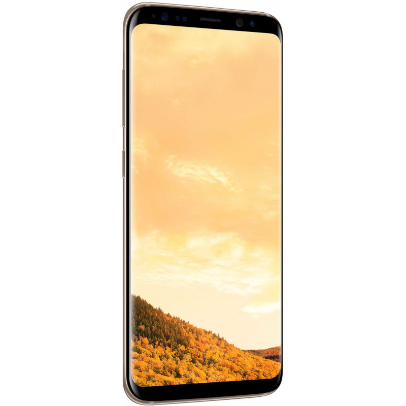 Смартфон Samsung Galaxy S8 64GB желтый топаз SM-G950FD