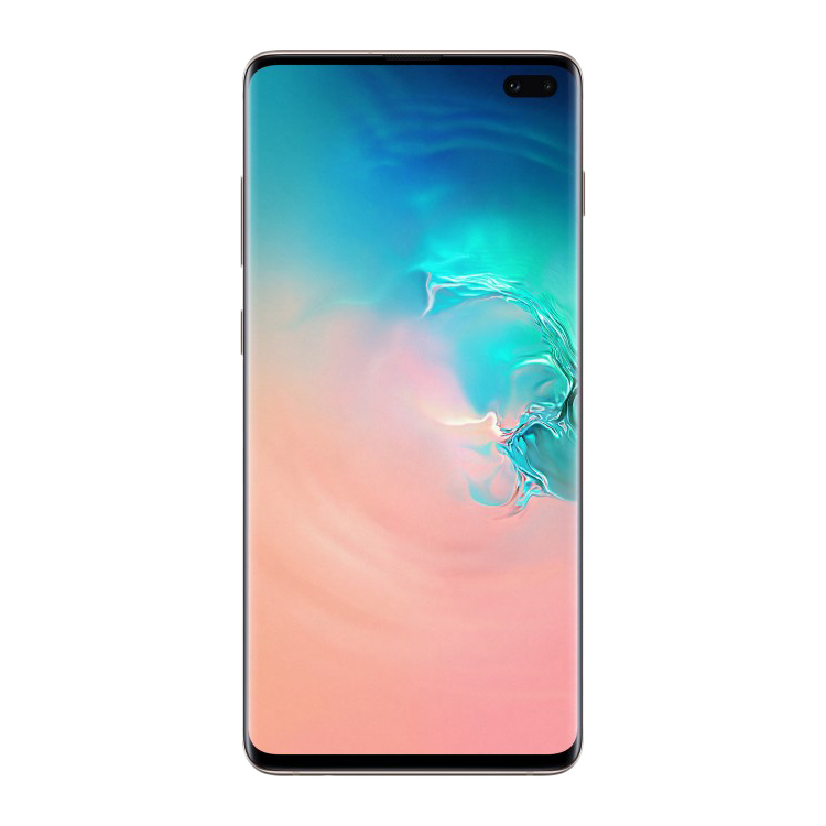 Смартфон Samsung Galaxy S10+ 8/512Gb белая керамика SM-G975F/DS