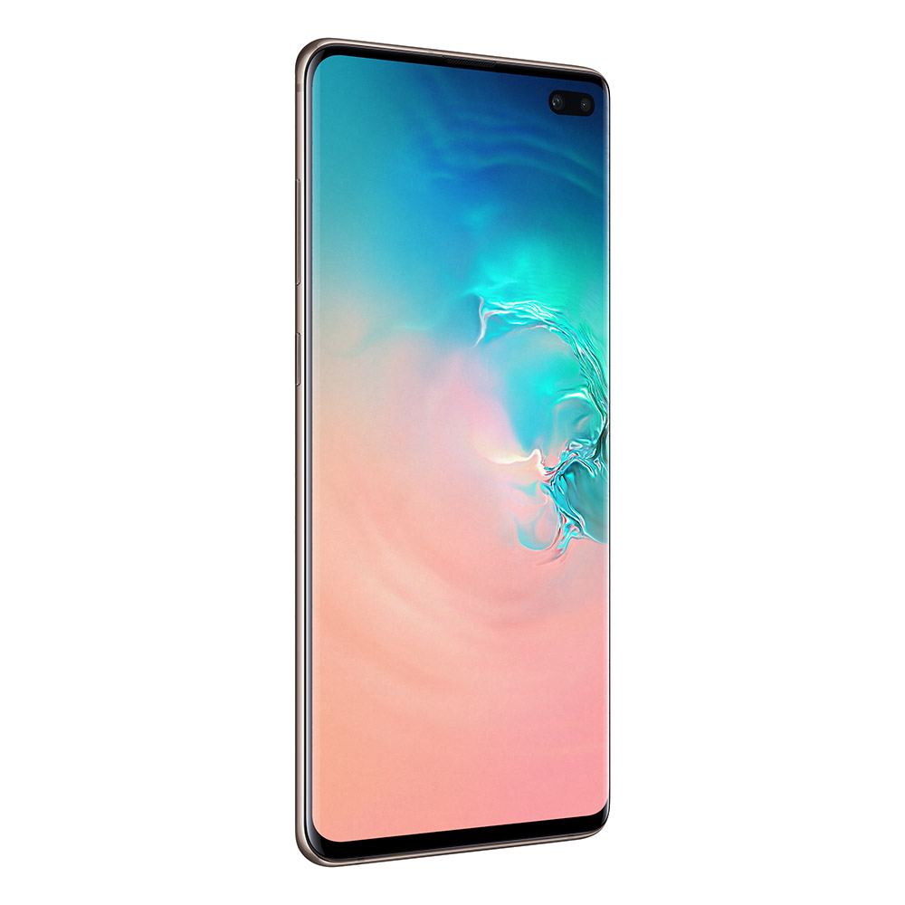 Смартфон Samsung Galaxy S10+ 12GB/1TB белая керамика SM-G975F/DS