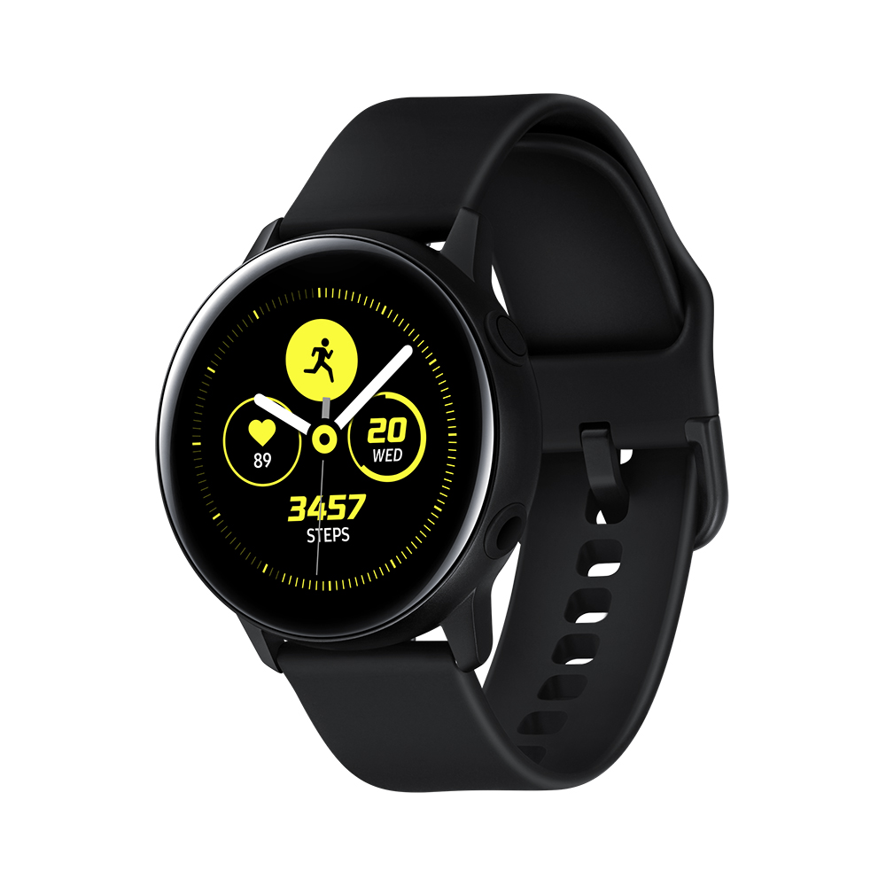 Samsung Galaxy Watch Active 42 мм Чёрный сатин фото